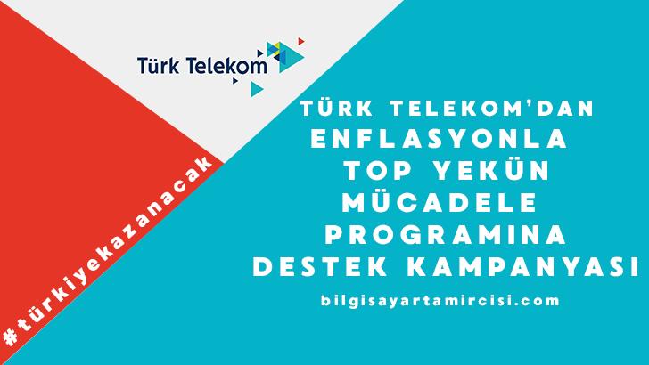 Türk Telekom Enflasyona Destek programı kapsamında sosyal medya hesabından 2019 yılına kadar internete zam yapmayacağını duyurdu. Detaylar haberimizde.