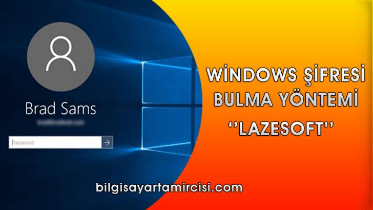 Windows 10 Şifre Bulma Programı Lazesoft ile windows şifre bulma işlemlerinizi çok kolay halledebilirsiniz. Windows Şifre Bulma Programı lazesoft kullanımı bu konuda.