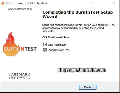 Bilgisayar Donanımları Test Etme Programı, BurnInTest programı kullanımı resimli anlatım. Bilgisayar donanımlarınızı test edin arızalı donanımlarınızı öğrenin