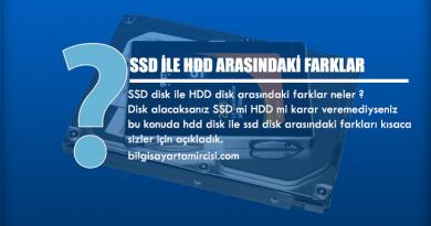 SSD ile HDD Arasındaki Farklar Nelerdir ? Disk alacaksınız hdd mi ssd mi karar veremediyseniz ssd disk ile hdd disk arasında ne fark var bu konuda öğrenebilirsiniz.