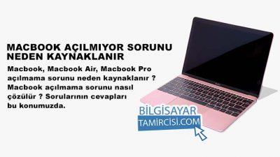 Macbook Açılmıyor Sorunu