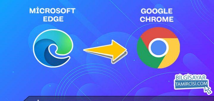 Microsoft Edge Kaldırma (Windows 10), Google Chrome alışkanlığını bırakamayanlar için Windows'da Chrome varsayılan uygulama yapma anlatımı