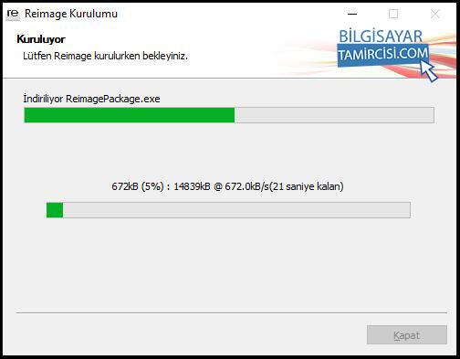 Reimage Windows Onarım Programı Kurulum anlatımı ile Reimage Windows dosyalarını onarabilirsiniz.