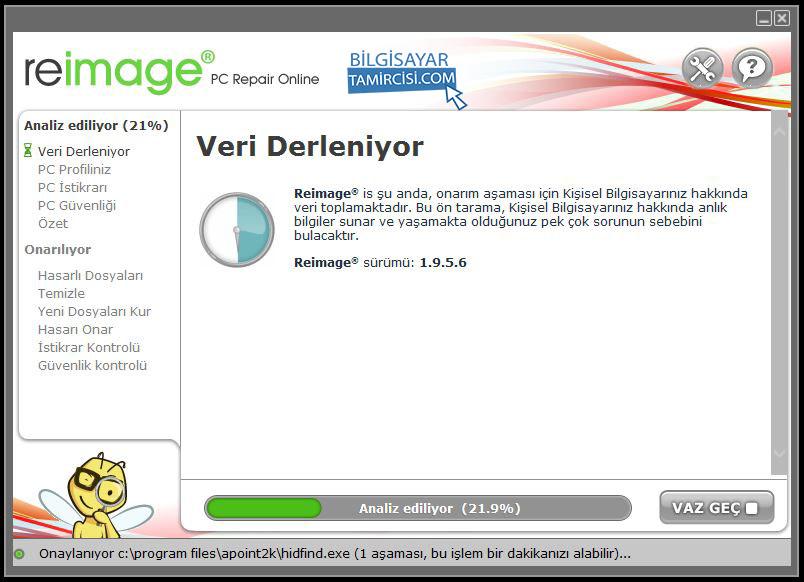 Windows Onarım Programı Resimli Anlatım