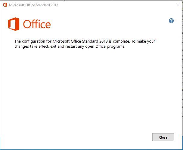 Office Onarım İşlemi Başarılı Bir Şekilde Tamamlandı