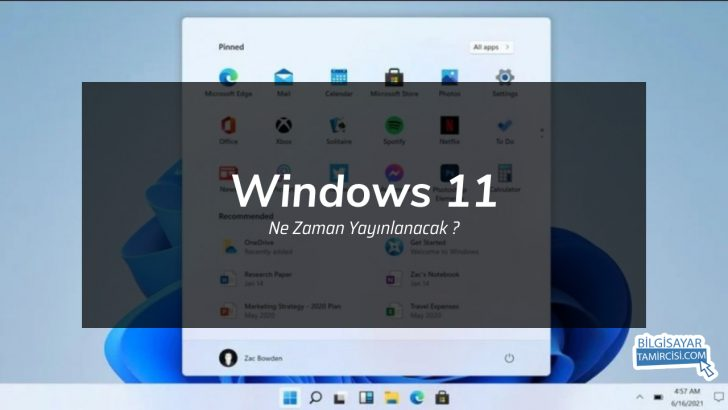 Windows 11 Ne Zaman Yayınlanacak